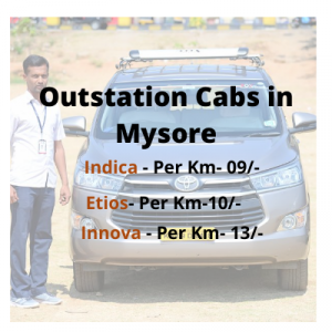 Outstation Cabs in Mysore