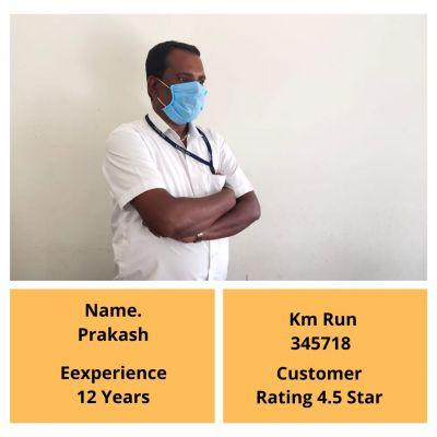 Prakash Mysore Cab Driver